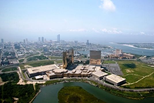 Great Aerial View of Water Club Resort!