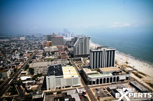 Aerial View of Atlantic City from Atlantic Club