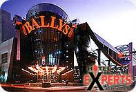 Bally's Casino Atlantic City Exterior!