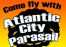 Parasailing in Atlantic City, NJ