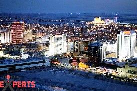 Aerial Casino Picture Atlantic City, NJ