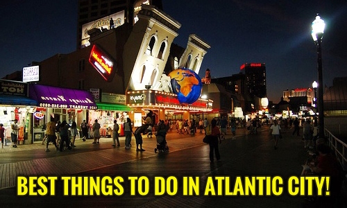 Family Friendly Attractions and Things To Do in AC