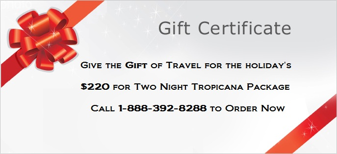 Hotel Gift Certificate for Special Occasion