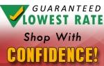 Guaranteed Lowest Rates