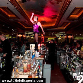 Dancing on the Bar at EGO