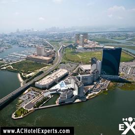 Aerial Picture of Harrah's Casino