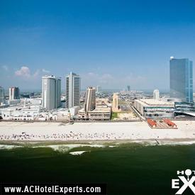 Aerial Views of AC Casinos