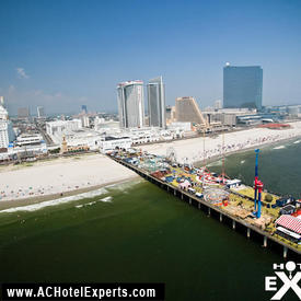Steel Pier Helicopter Experience - City or Shoreline Tour