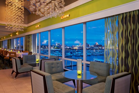Awesome Views at The Chart House Golden nugget!